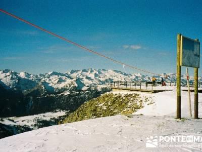 Esquí Baqueira; club singles madrid; montañismo madrid